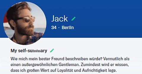 Bestes dating-profil für einen 50er mann